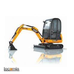 LOCAMIA - LOCAMIA - MINI PELLE HYDRAULIQUE JCB 8018